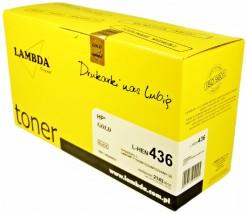 Toner LAMBDA HP 1505 P1505/1506 M1522/1120  CZARNY CB436A