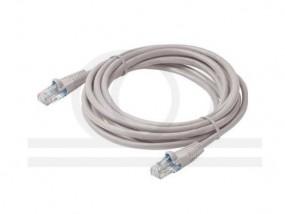 Kabel krosowy patchcord UTP/FTP kat.6 szary