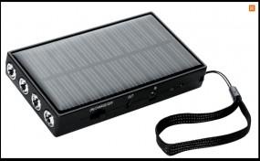ładowarka na baterie słoneczne