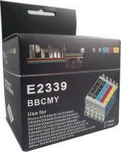 5 szt. T0711-714 / T0891-T0894 zestaw Epson - BOX zamiennik Printlab Epson T0711-714 / T0891-T0894 zestaw 5 kolorów