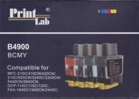 tusz / Kartridż / wkład atramentowy LC900 - kpl. 4szt. BKCMY Brother
