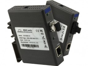 Media konwerter DIN RAIL 1000 Gb/s Gigabit Ethernet. RF-ES1000M-16