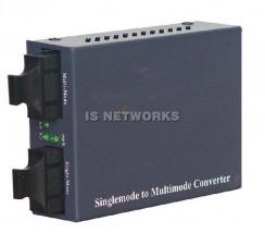 Konwerter ISX-102sm-AN FastEthernet 100Base-F SC MM 2km->SM 20km