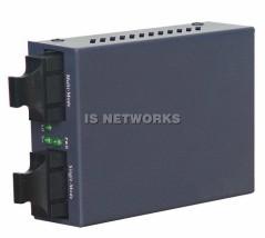 Konwerter ISX-1002sm-AN GigaEthernet 1G MM 550m->1G SM 20km