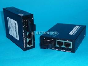 Konwerter MC2J100S 100BaseTX SM -> 2xRJ45 10/100BaseT