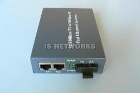 Konwerter NX-212csx 2xRJ45 10/100BaseTX->100BaseFX SM