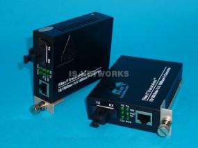 Konwerter WDM 10/100 SM 1310/1550 para 2 szt.