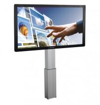 uchwyt elektryczny ścienny do tablic interaktywnych monitorów dotykowych