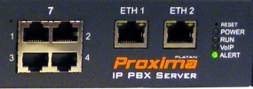 PROXIMA Serwer telekomunikacyjny - centrala telefoniczna
