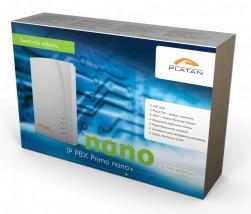 Prima IP Nano - Centralka telefoniczna 2 dodatkowe sloty na pakiety różnych linii