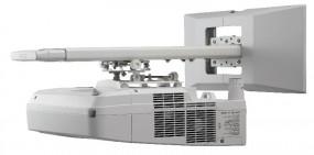 Projektor ultra szerokokątny Nec UM280X w komplecie z uchwytem