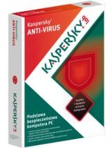 Kaspersky Anti-Virus 2013 na 2PC/1 ROK