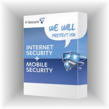 F-Secure Internet Security 2013/3PC+F-Secure Mobile Security