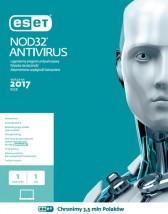 Eset Antywirus Nod32 1PC / 1 Rok - nowa licencja