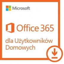 Microsoft ESD Office 365 Home - 5 komputerów PC lub Mac / 1 rok 6GQ-00092