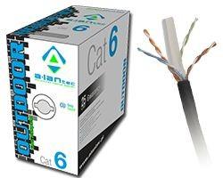 Kabel zewnętrzny suchy kat.6 UTP 305m KIU6OUTS305
