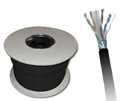 Kabel zewnętrzny suchy kat.6 FTP 305m KIF6OUTS305