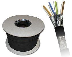 Kabel zewnętrzny suchy kat.7 S/FTP 500m KIS7OUTS500