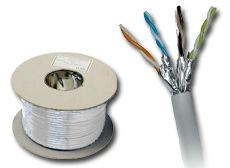Kabel skrętka kat.6A U/FTP LSOH 500m KIF6ALSOH500