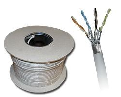 Kabel kat.6A F/FTP LSOH 500m KIFF6ALSOH500
