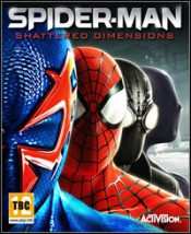 Gra komputerowa Spiderman Shattered Dimensions