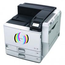 Drukarka ceramiczna zmodernizowana SPC 830DN max format druku A3 zawiera zestaw tonerów 4x250g