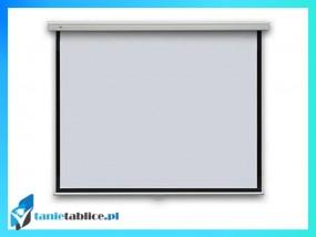 Ekran projekcyjny 2x3 147x108 75 4:3 manualny, rozwijany, ręczny, ścienny lub sufitowy
