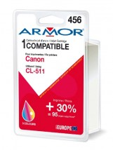 K20282 wkład atramentowy zamienny ARMOR do CANON Pixma MP230, MX320 CL-511 3-kolorowy