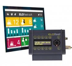 System zarządzania flotą wózków widłowych ELOfleet3