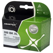 Tusz Asarto do HP 300 / CC641EE | 20 ml | BLACK HP 300XL / CC641EE / HP300XL