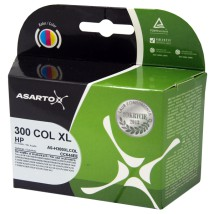 Tusz Asarto do HP 300 / CC644EE | 18 ml | KOLOR HP 300XL / CC644EE / HP300XL
