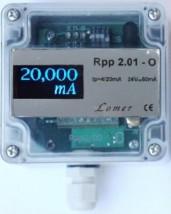 Bezprzewodowy wyświetlacz pętli prądowej 0-20mA Rpp 2.01-O